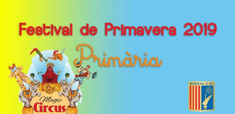 Festival de primavera – Primària (2019)